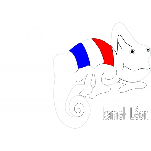 Kamel-leon