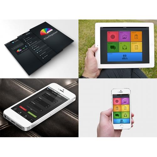 Colorful App Designs