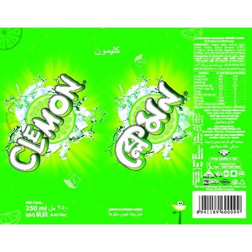 Clear Drink Label Design