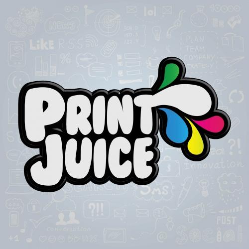 Brand Logo Print Juice