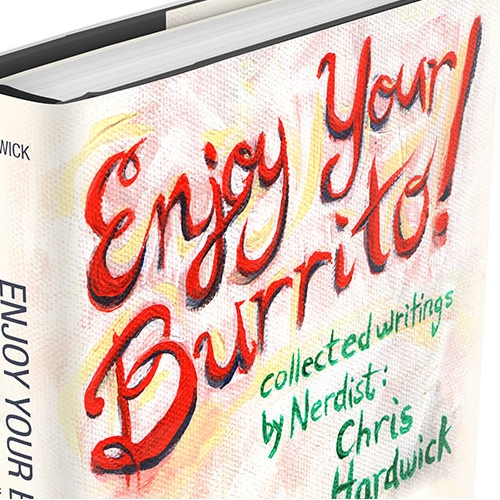 Enjoy Your Burrito Concept Book Cover Design