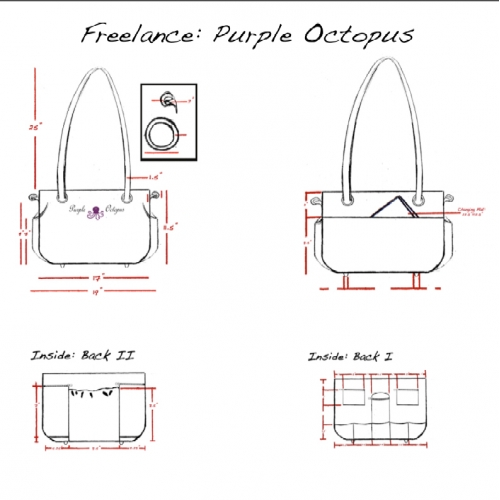 BluePrint for Diaper Bag