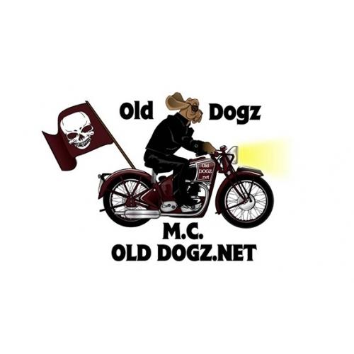 Old Dogz logo illustration
