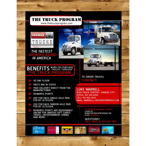POster Design for The Truck Program