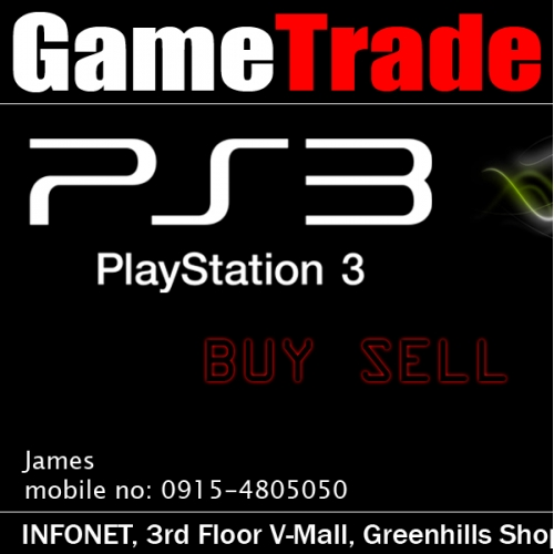 Game Trade business card