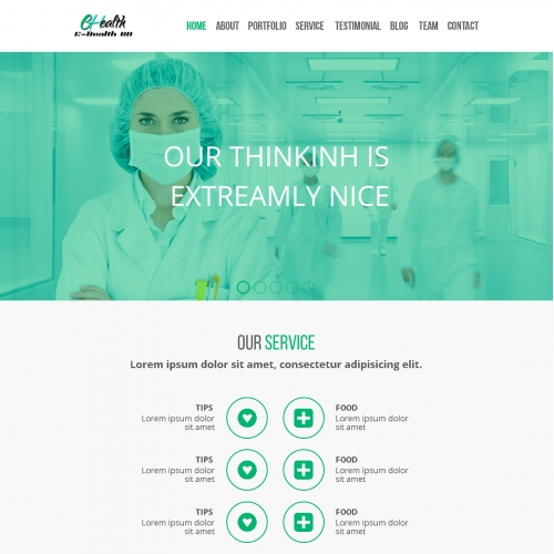 PSD template Design