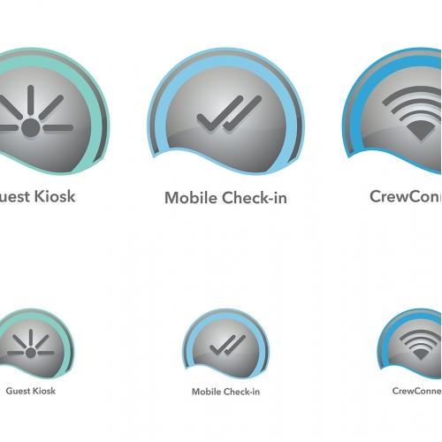 Cruise Ship App Icon Concept
